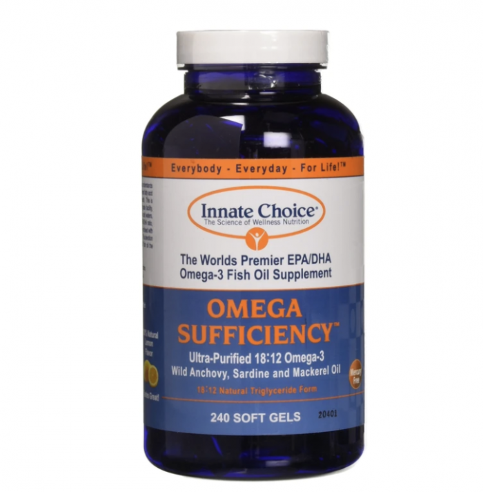 Omega Sufficiency by Innat3e Choice on white background